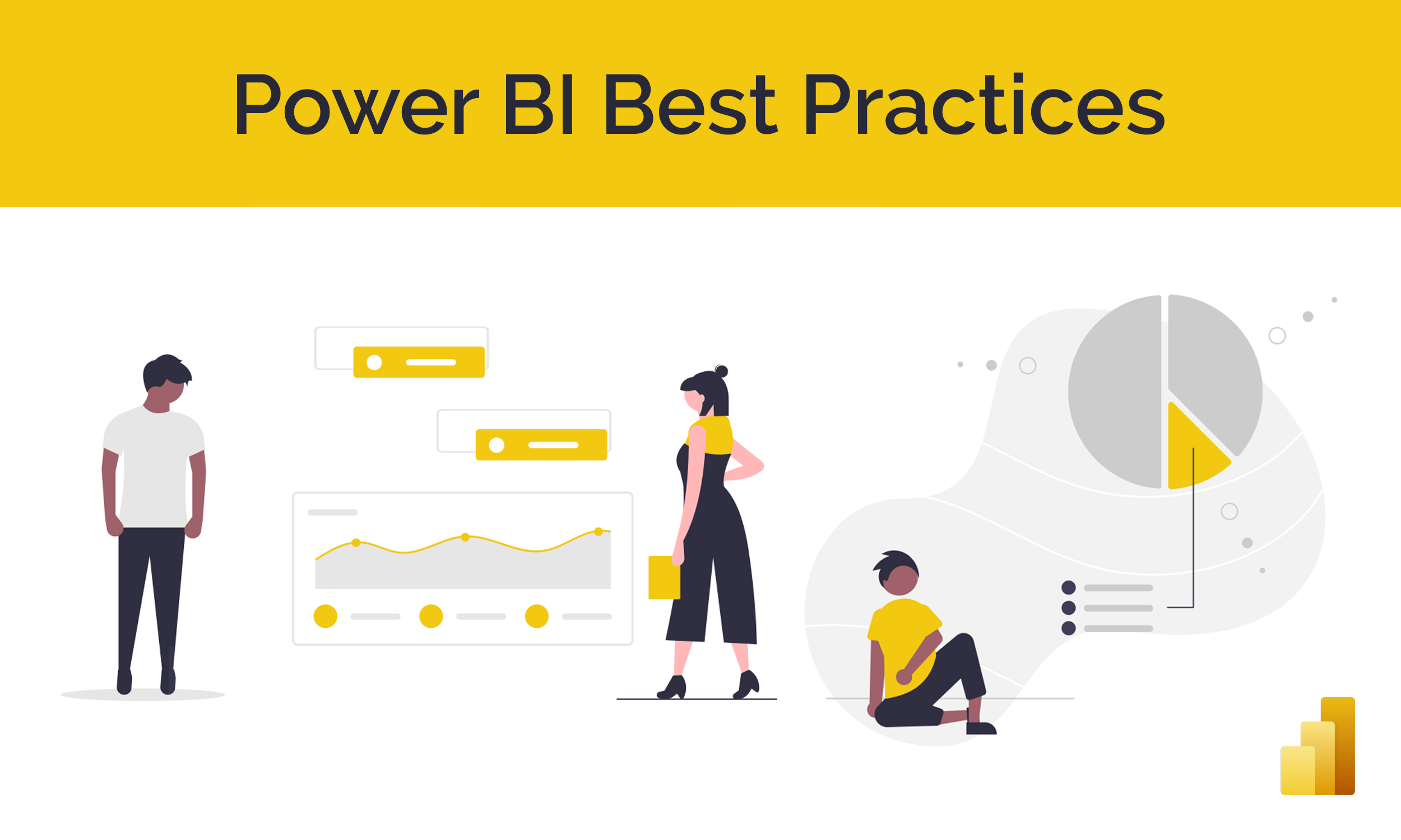 Cover image for and link to the Power BI Best Practice Guide